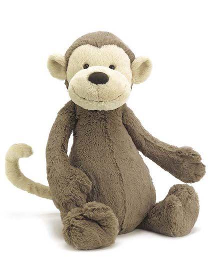Image of   Jellycat Bashful Monkey Small