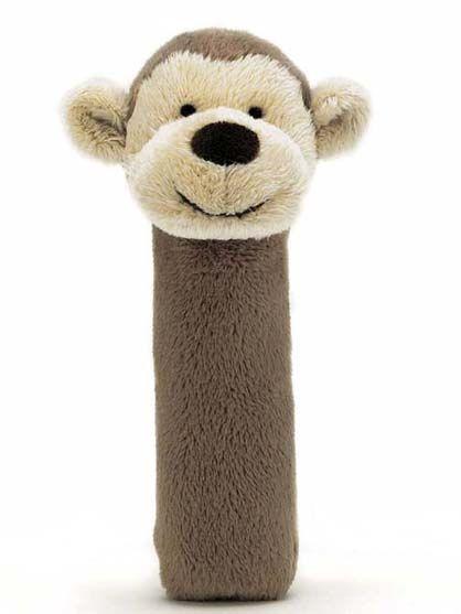Image of   Jellycat Bashful Monkey Squeaker