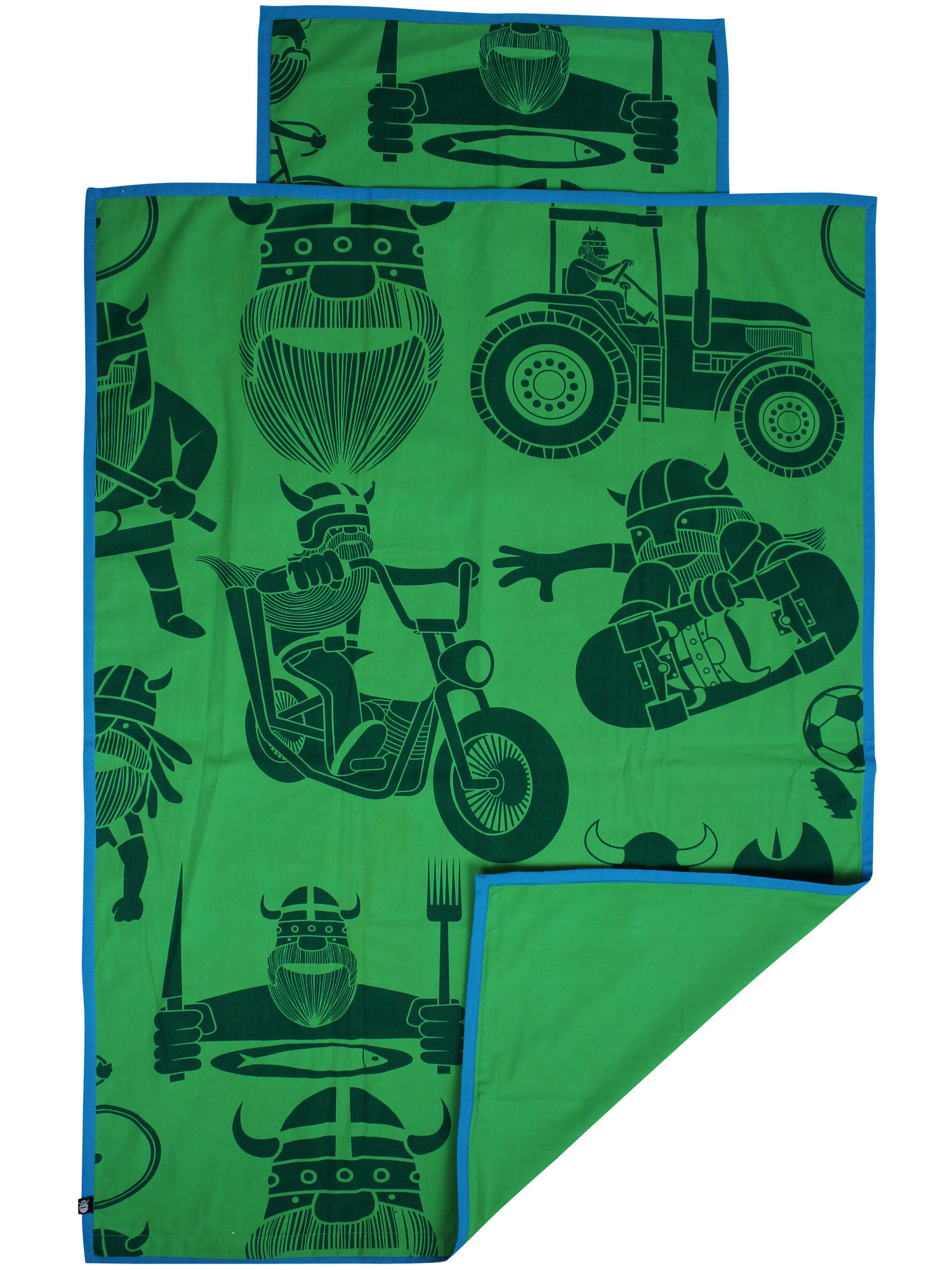 Image of   Bed linen Baby Green ALL VIKING