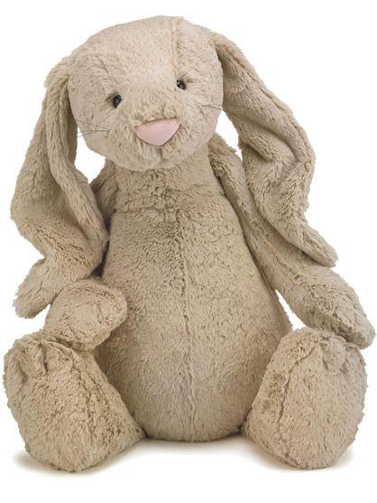 Image of   Jellycat Bashful Beige Bunny Large