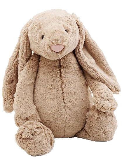 Image of   Jellycat Bashful Beige Bunny Medium