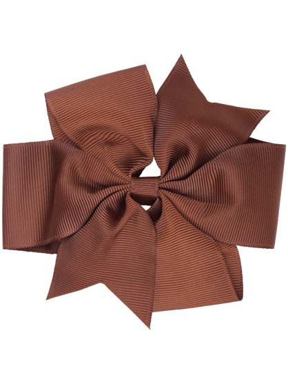 Image of   Hair Bow BIG Brown