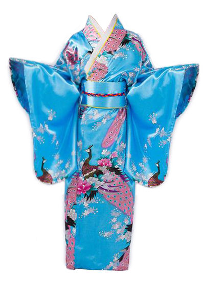 Image of   Kimono Blue