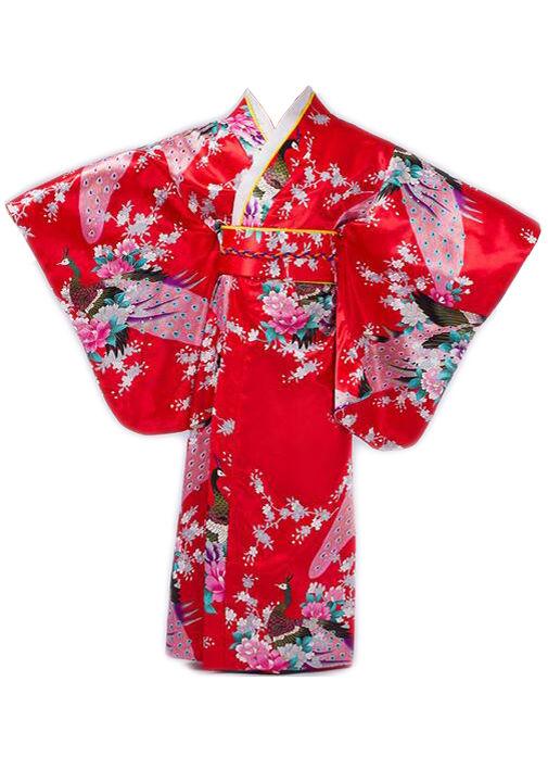 Image of   Kimono Red