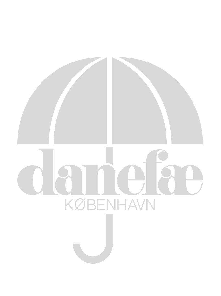 ORGANIC - Bulgur dress Dk blush/ off white