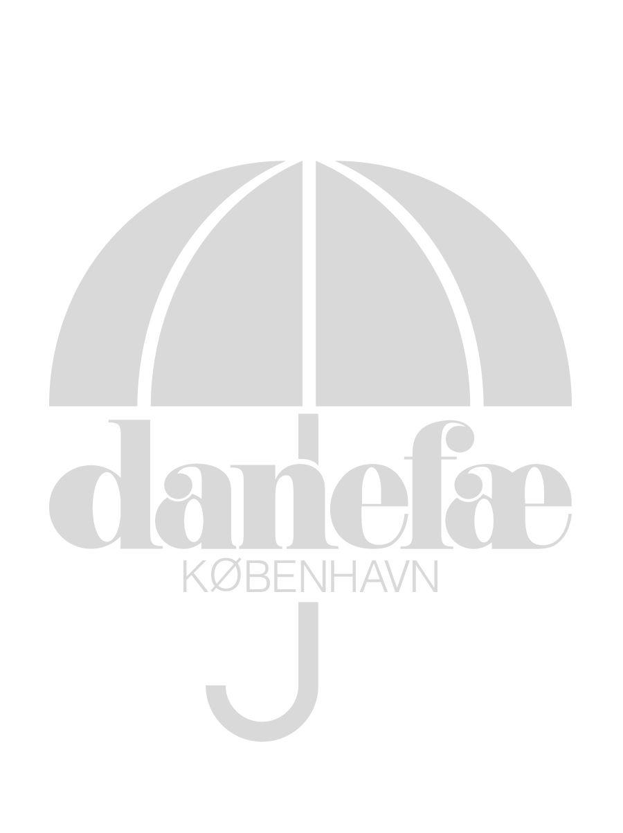 Vesterhav Regnfrakke Sort (med hvid lynlås)