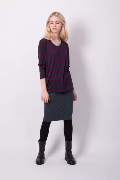 Betsy skirt Dk Night W. Lurex