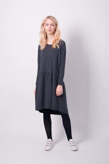 Image of   Autunno Dress Dk Night W. Lurex