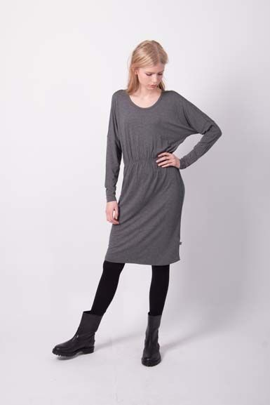 Infermiera Dress Dark Heather Grey