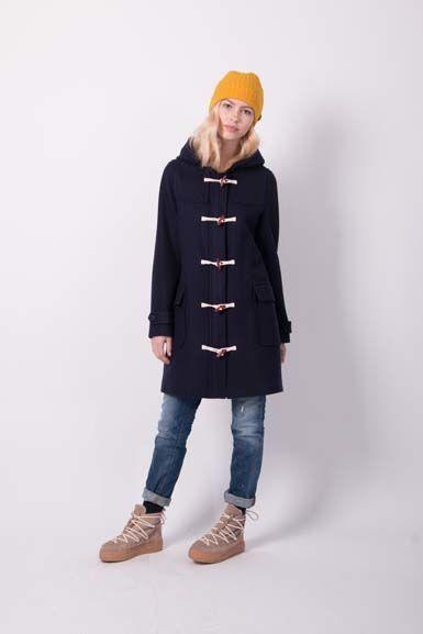Image of   Scones duffle coat Dark Night