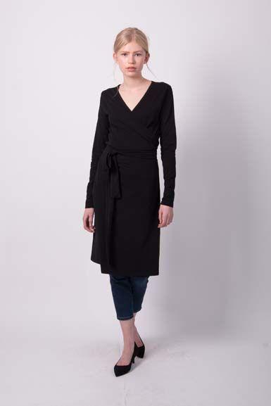 ORGANIC - Regina Dress Black