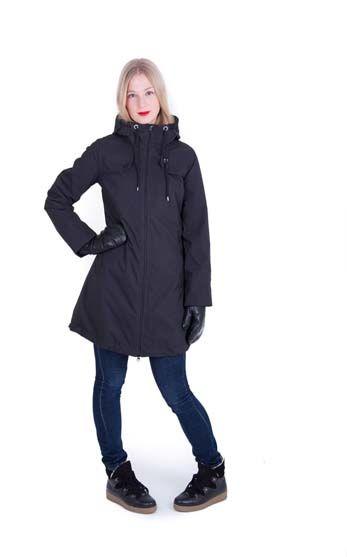 Image of   Blaabaer Winter Jacket Black (ALL BLACK)