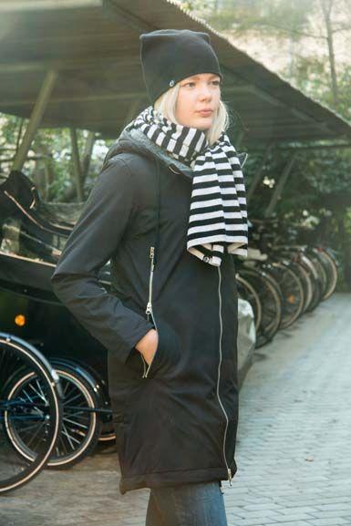 Image of   Margrethe Wntr Str Jacket Black