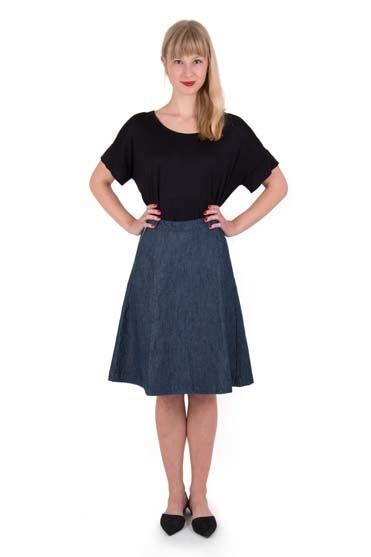 Maiden Skirt Dk Denim