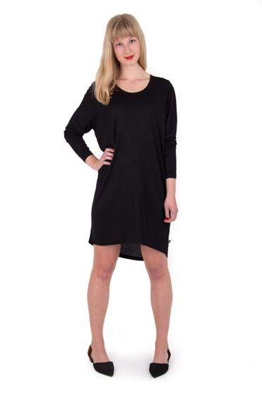 Fiore Tunic Black