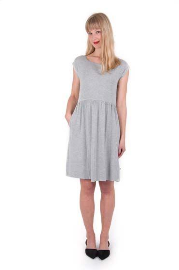 Domenica Dress Heather Grey