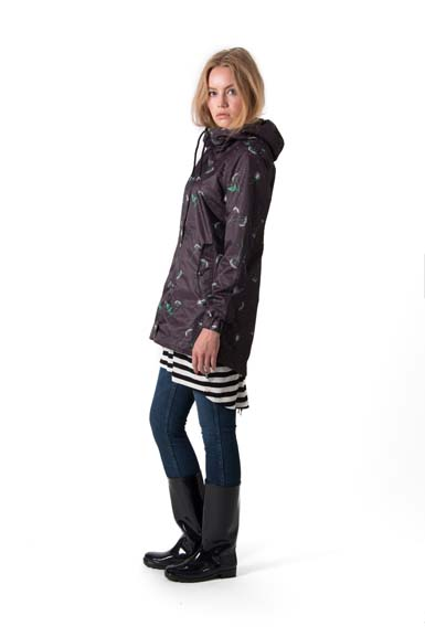 Esther Jacket Black meadow