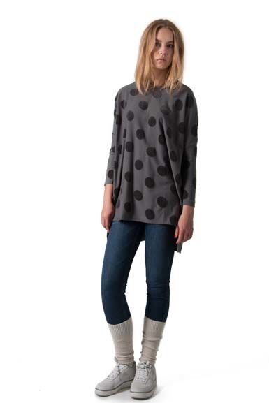 Notte Tunic Dark Grey