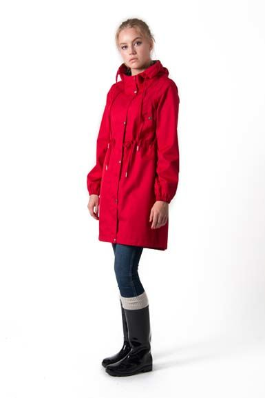 Aalborg raincoat Red