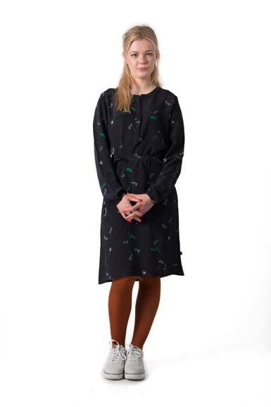 Image of   Bacca dress Navy Meadow