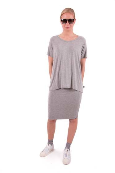 Image of   Betsy skirt Htr Grey