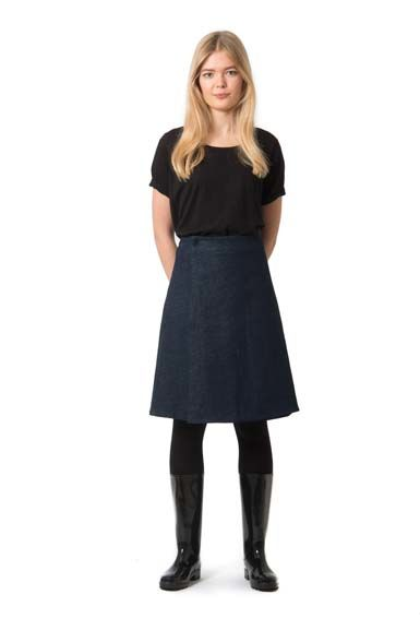 Stockholm skirt Dark blue