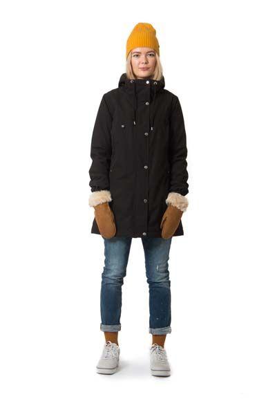 Camilla Winter Jacket Black
