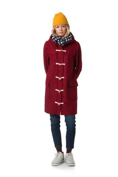 Scones duffle coat Dark Red