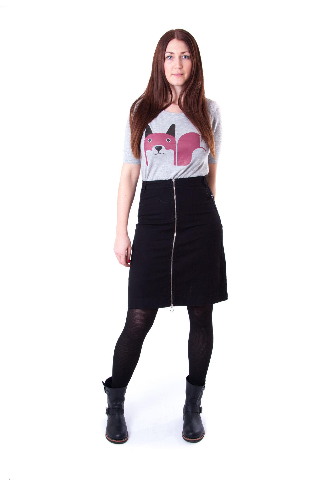 Image of   Froeken Skirt Black