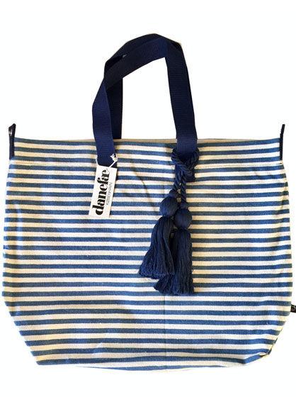Delhi bag Blue/ off white