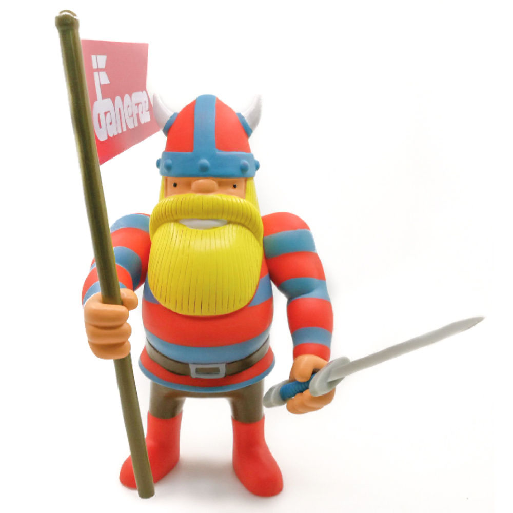 Erik Action Figure Red/Blue stripe