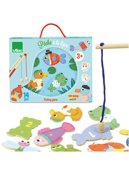 Image of   Room2Play Magnetic fishing game, Fiskspil