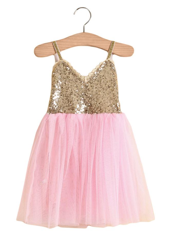 Ballerinakjole Pink
