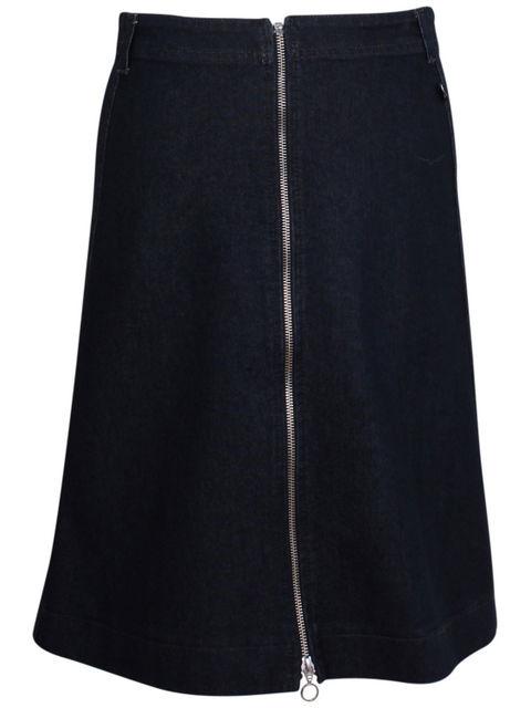 Image of   Froeken Skirt Indigo Denim