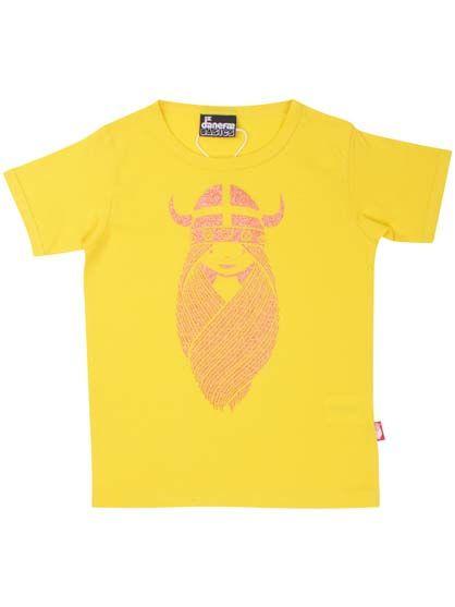 BASIC Shortsleeve Retro Yellow FREJA