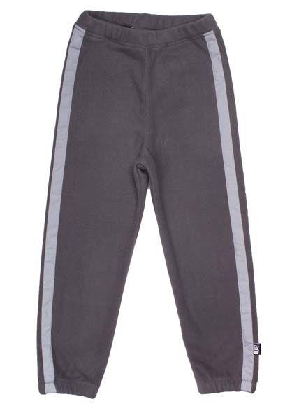 Image of   Vitus Fleece Pants Maxi Grey w. reflective stripes