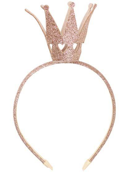 Image of   Headband Golden Glitter CROWN