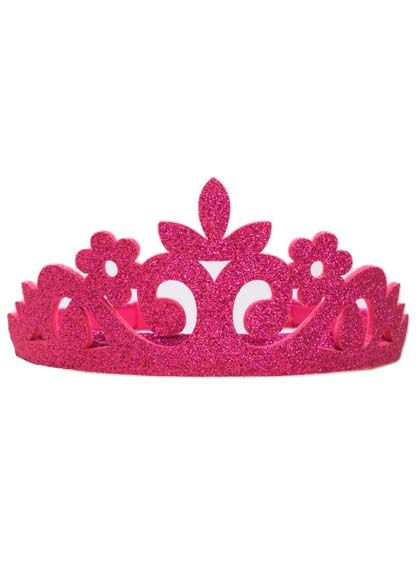 Image of   Diadem Pink Glitter