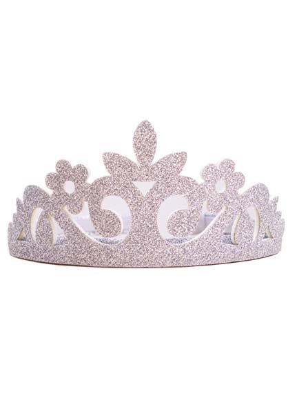 Image of   Diadem Silver Glitter