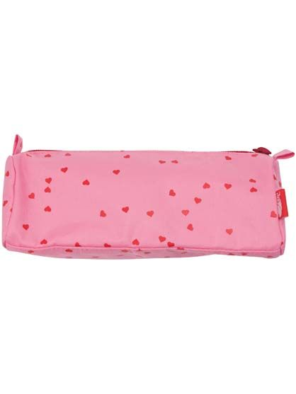 Pencil case Super Pink CONFETTI HEARTS