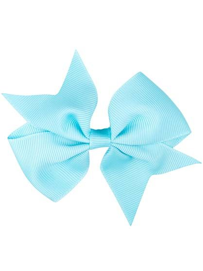 Image of   Hair bow Pool Blue