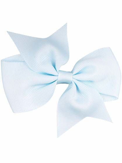 Image of   Hair bow Lt Blue