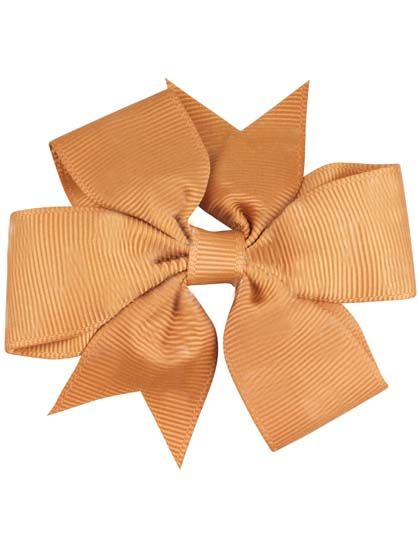 Image of   Hair bow DOUBLE Gold Mustard