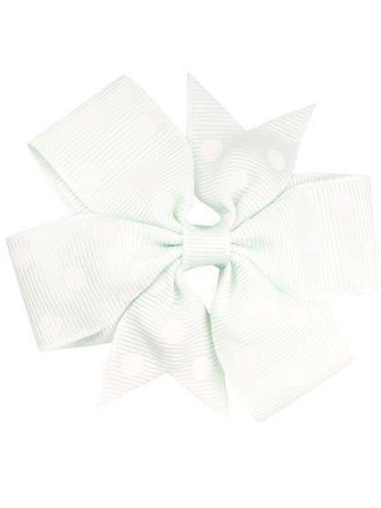 Image of   Hair bow DOTS Mint