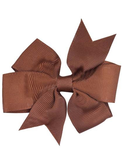 Image of   Hair bow DOUBLE Brown