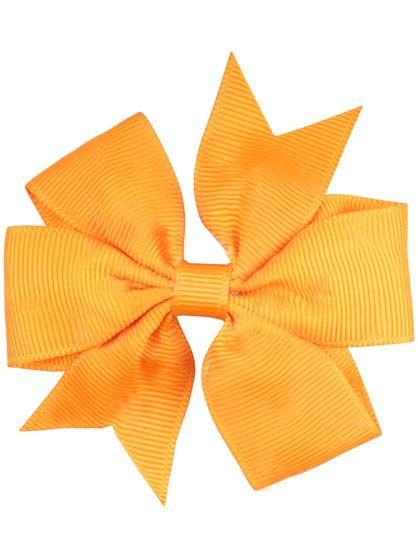 Image of   Hair bow DOUBLE Orange