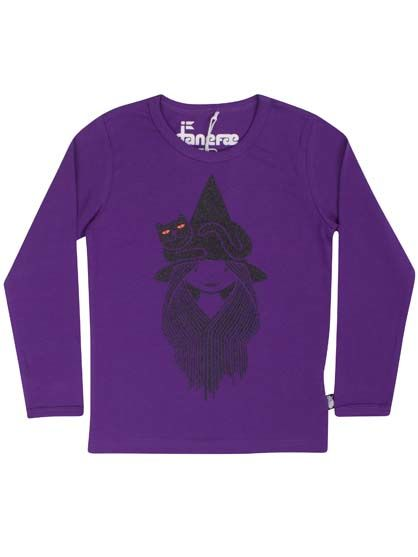 Northpole Tee Purple WITCHFREJA