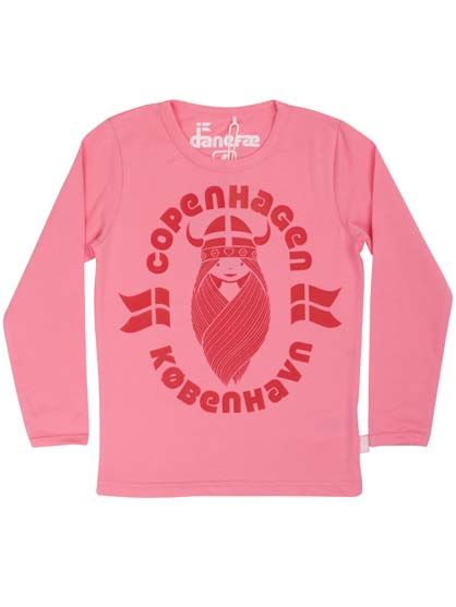 Image of   Northpole Tee Super Pink CPH FREJA