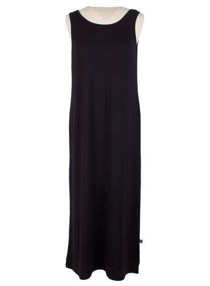 Sigrid Long Dress Black