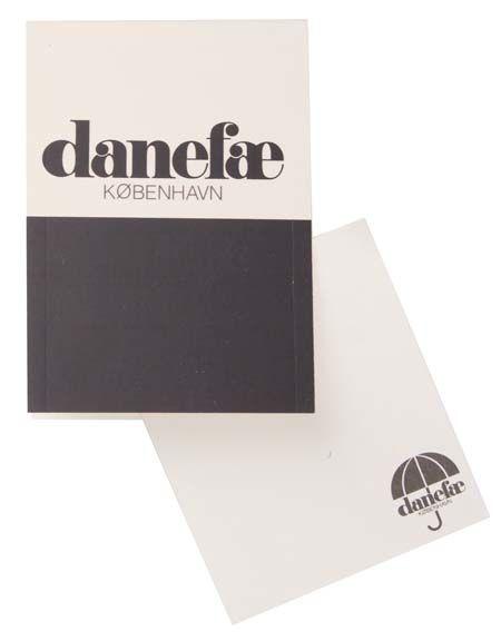 Image of   Notepad Black DANEFAE MINI